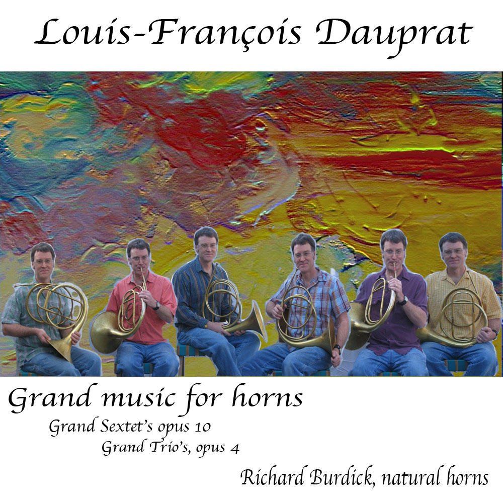 CD Dauprat GRand music for horns