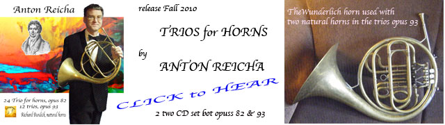 Richard O. Burdick's CD27 Anton Reicha Horn trios